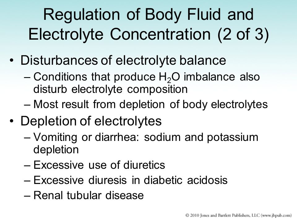 Regulation of Body Fluid and Electrolyte Concentration (2 of 3)