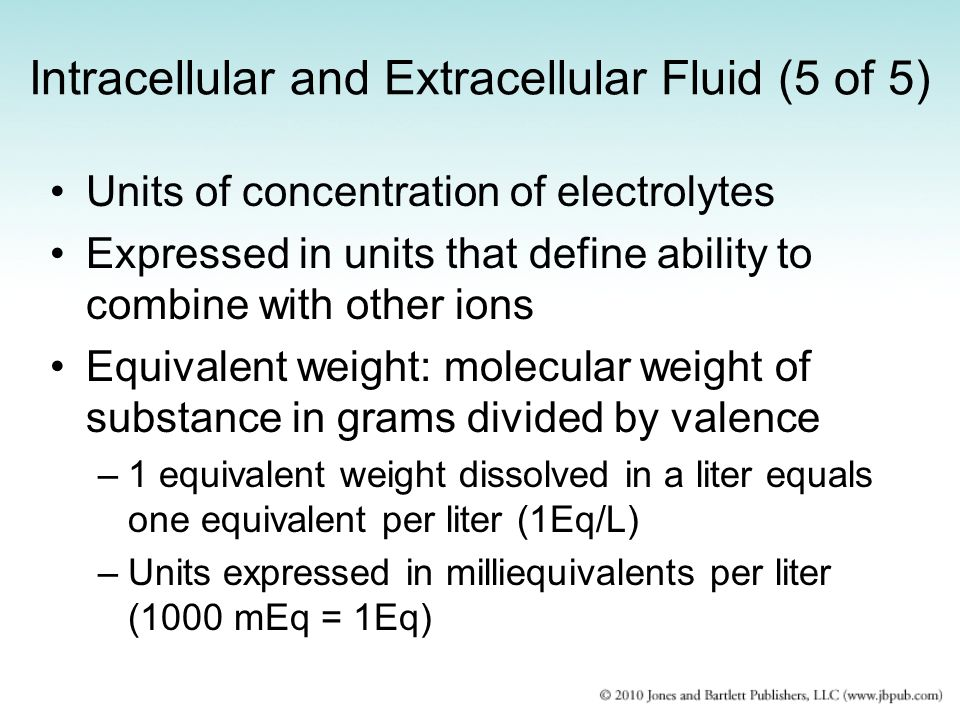 Intracellular and Extracellular Fluid (5 of 5)