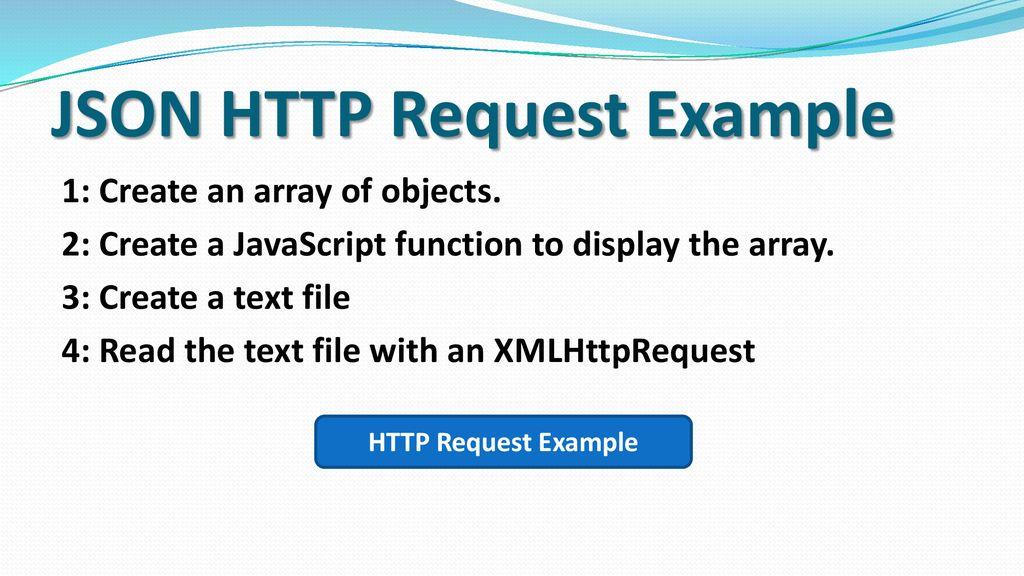 HTML5 AJAX & JSON APIs - ppt download