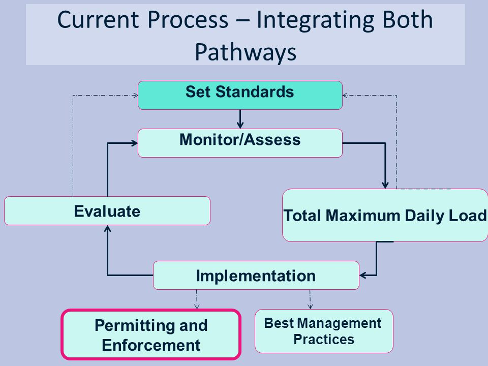 Current Process – Integrating Both Pathways