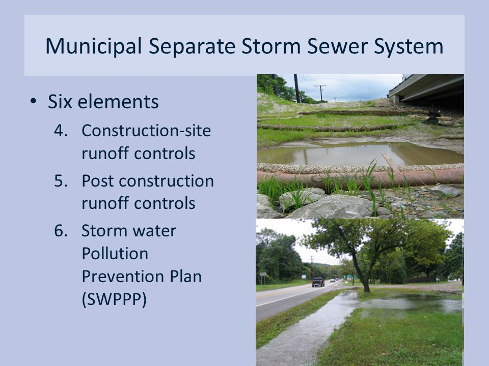 Municipal Separate Storm Sewer System
