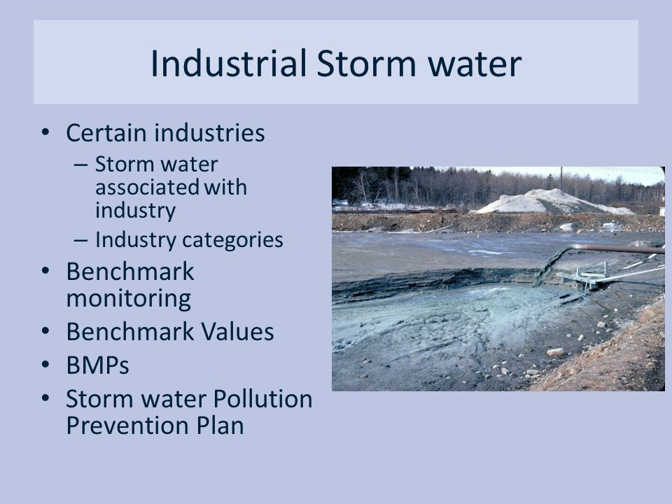 Industrial Storm water