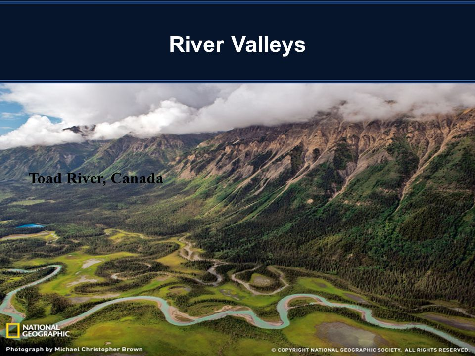 River Valleys Toad River, Canada