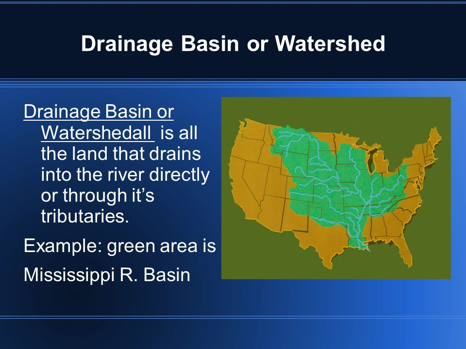 Drainage Basin or Watershed