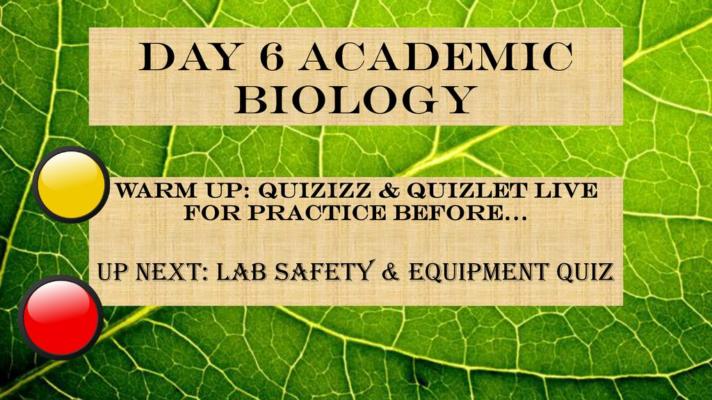Warm Up: Quizizz & Quizlet LIVE for Practice before… - ppt