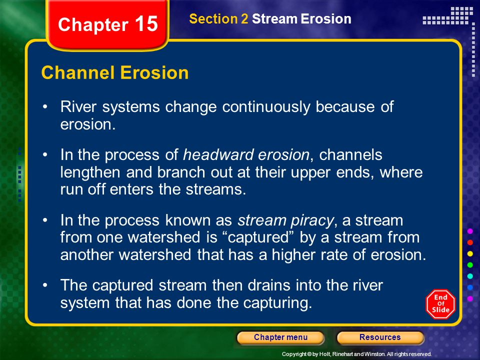 Chapter 15 Channel Erosion