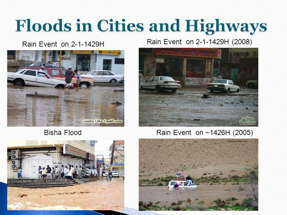 Floods in Cities and Highways