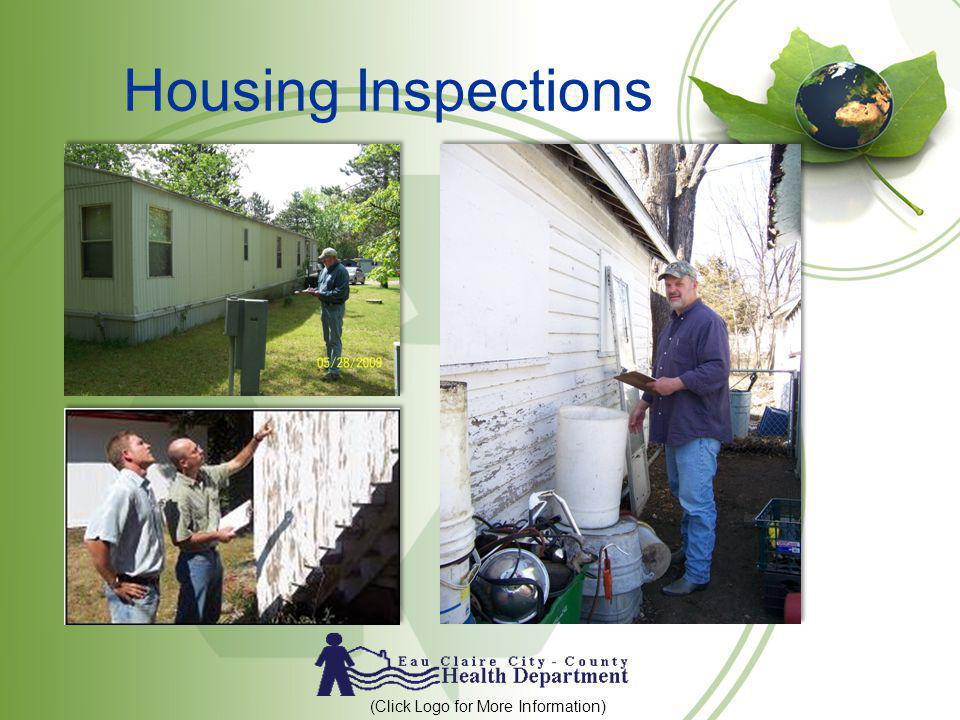 Housing Inspections (Click Logo for More Information)