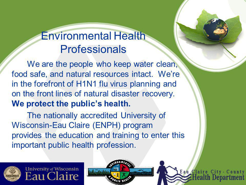 Environmental Health Professionals