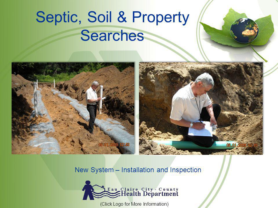 Septic, Soil & Property Searches