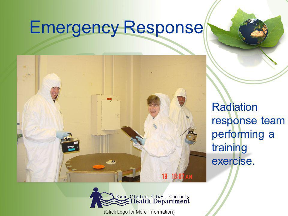 Emergency Response Radiation response team performing a training exercise.