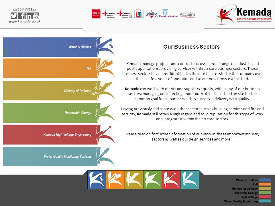 Our Business Sectors