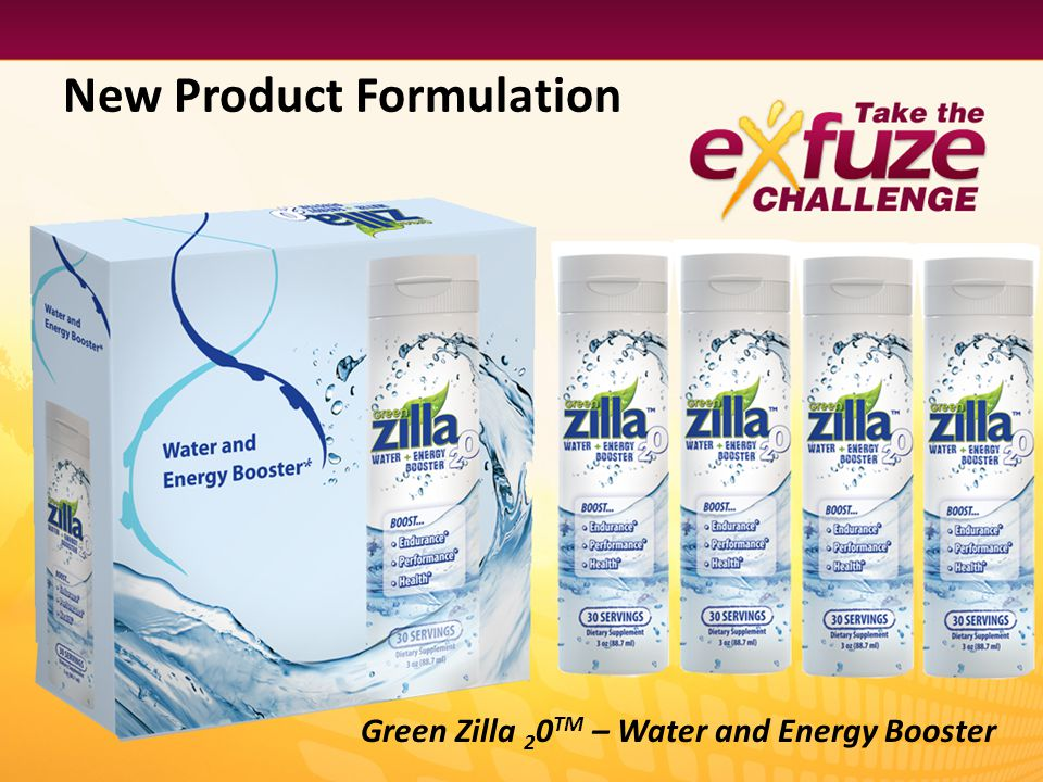 New Product Formulation