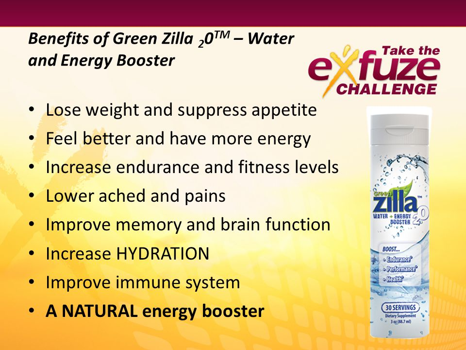 Benefits of Green Zilla 20TM – Water and Energy Booster