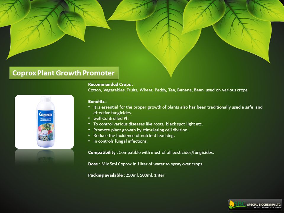 Coprox Plant Growth Promoter