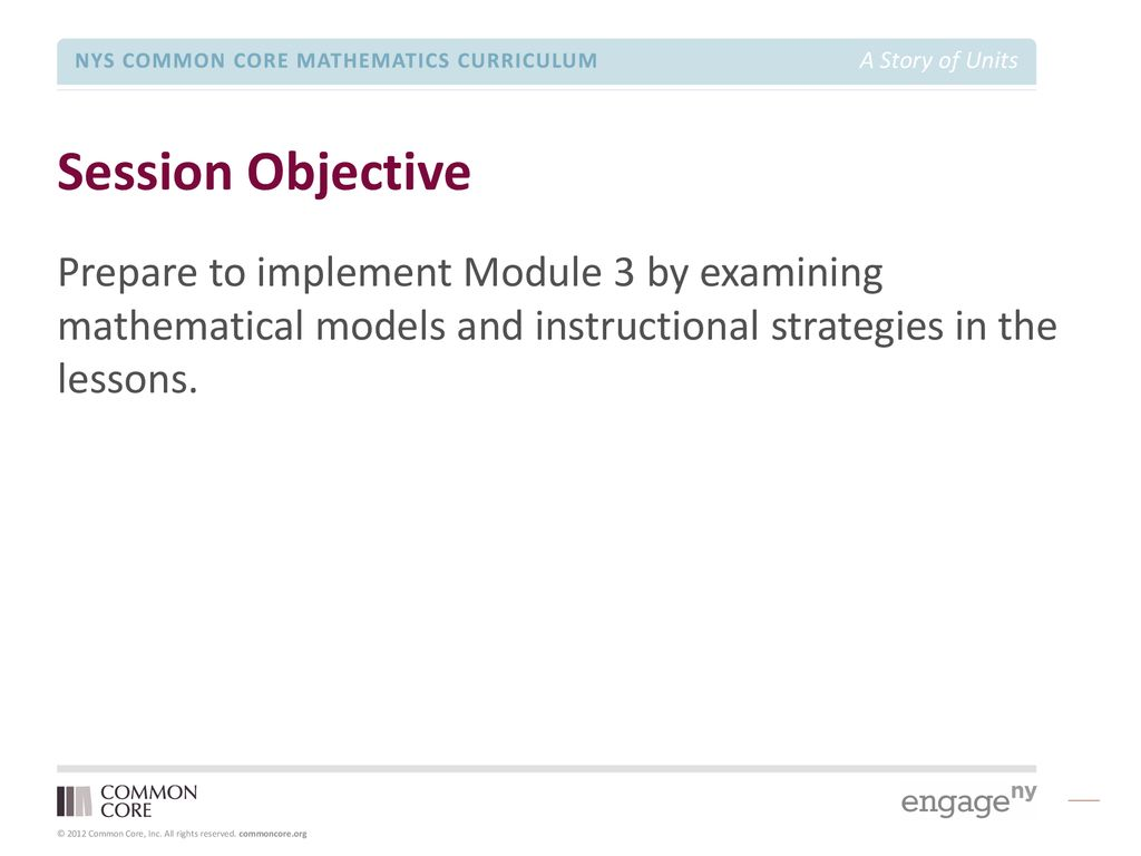 Grade 3 – Module 3 Module Focus Session - ppt download