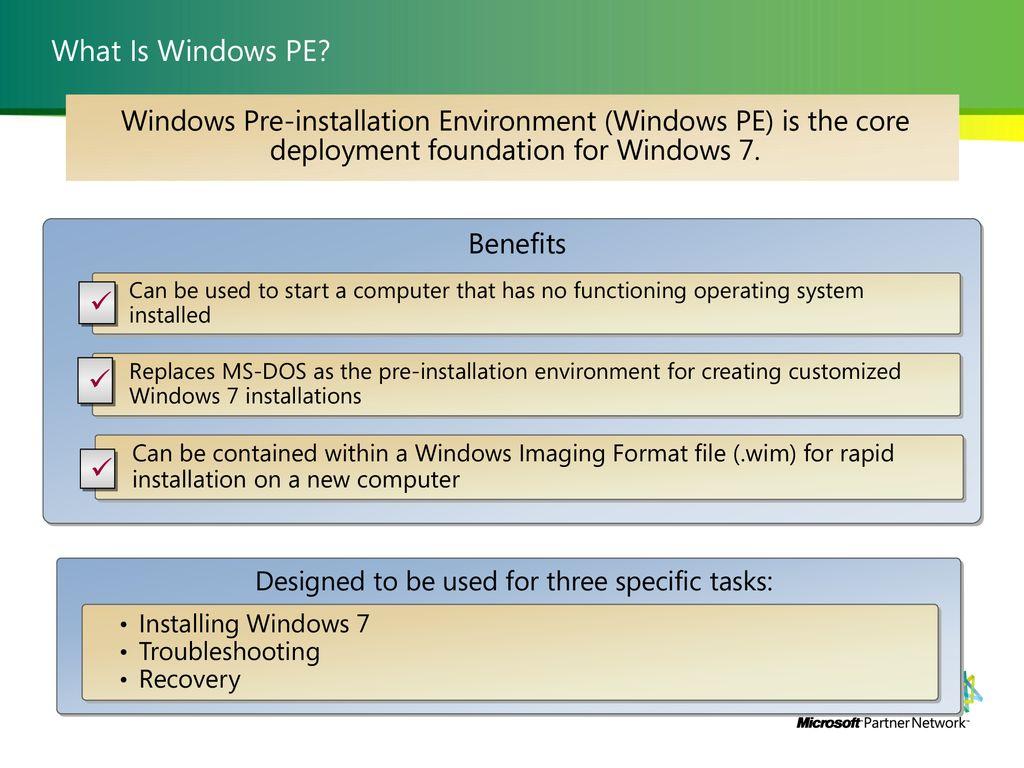 Seminario Tecnico Windows 7 Deployment - ppt download
