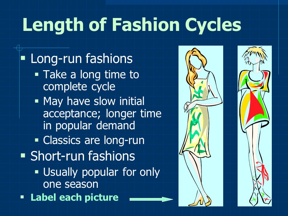 Length of Fashion Cycles