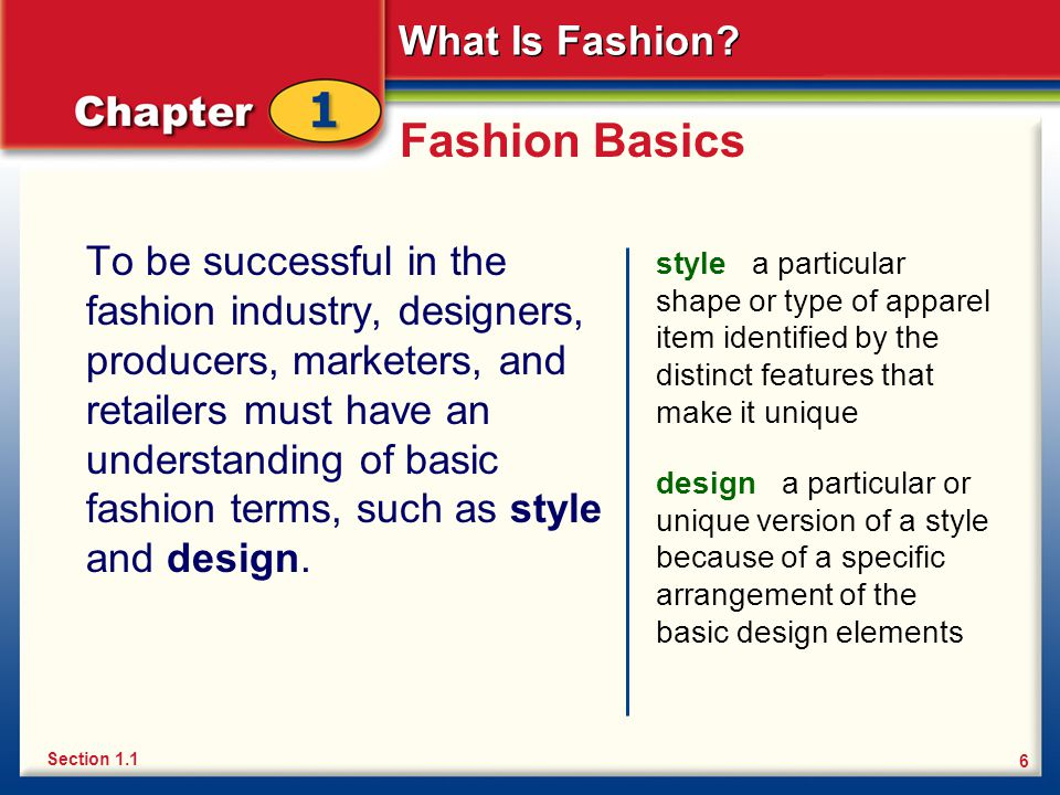 Fashion Basics