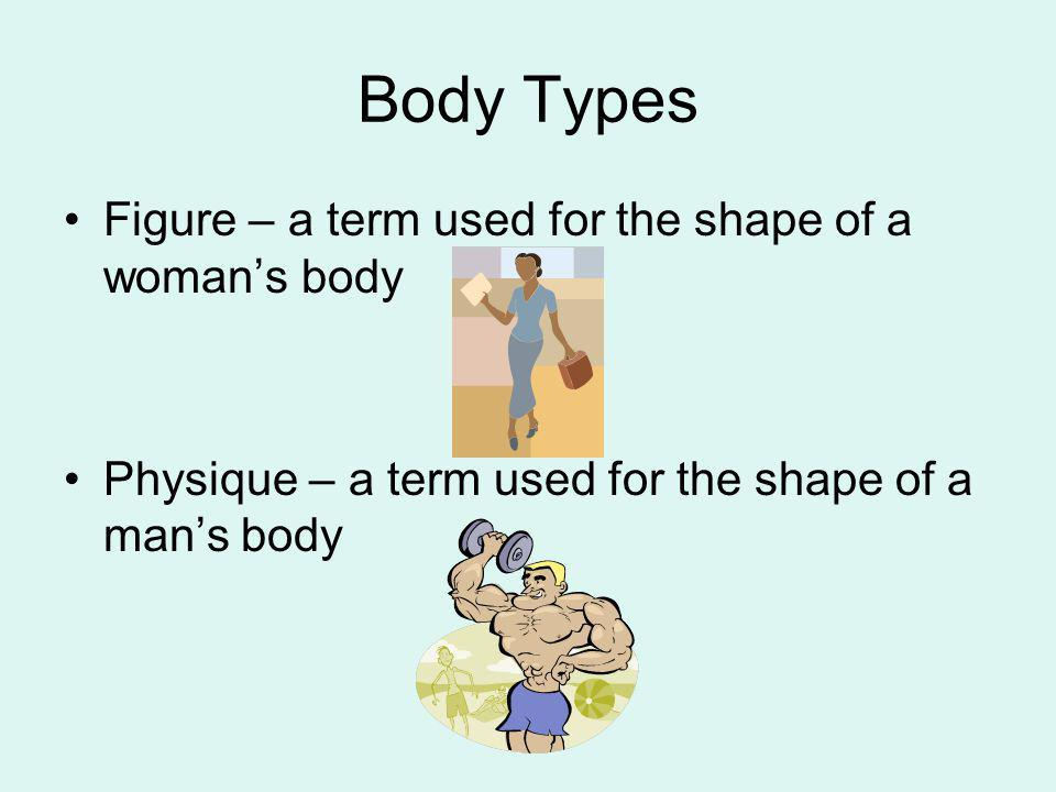 Body Types Figure – a term used for the shape of a woman's body