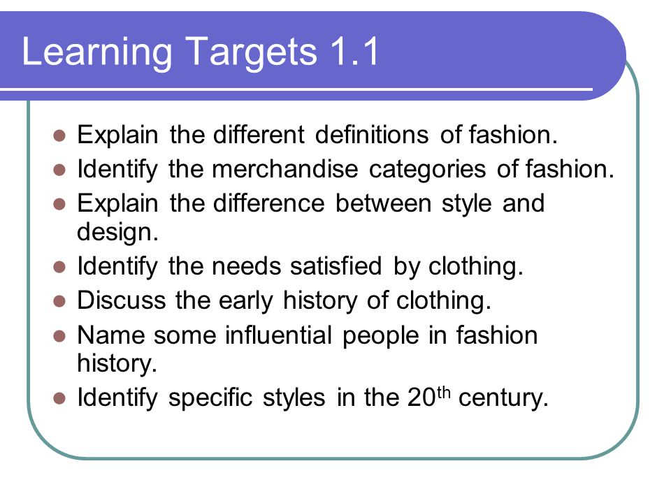 Fashion And Clothing Welcome Ppt Download