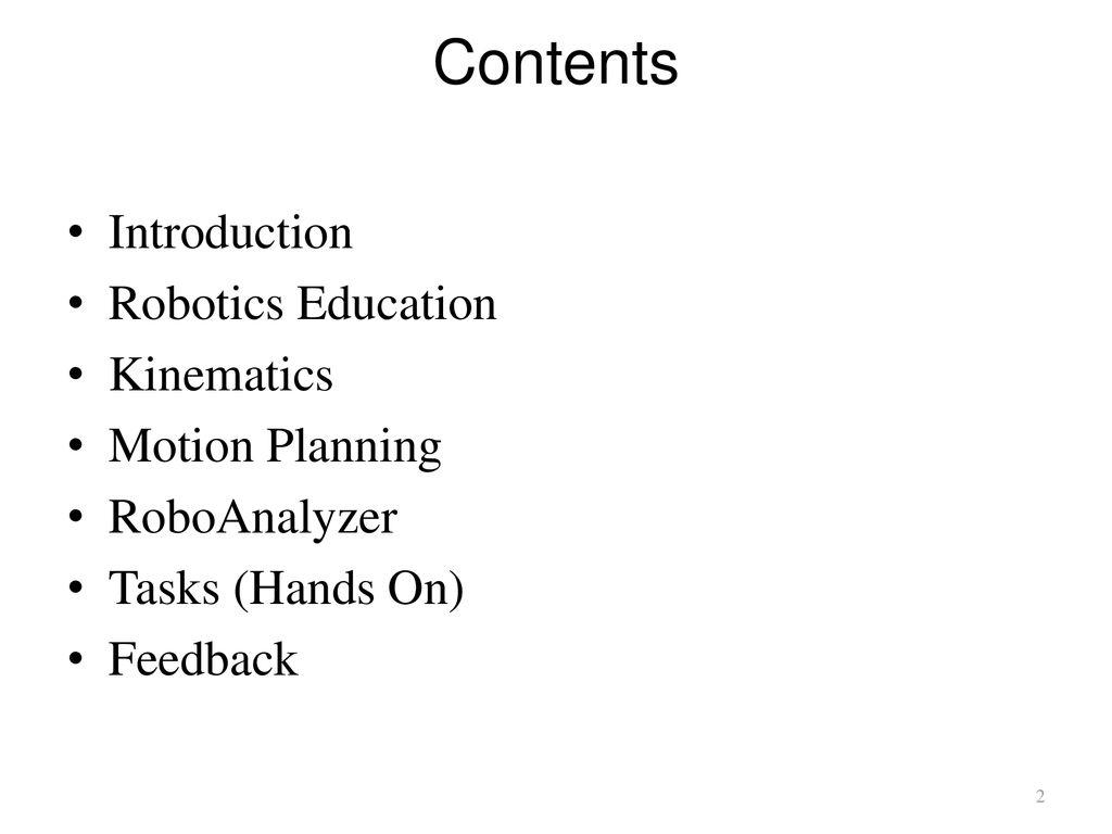 Robotics Toolbox Rtb