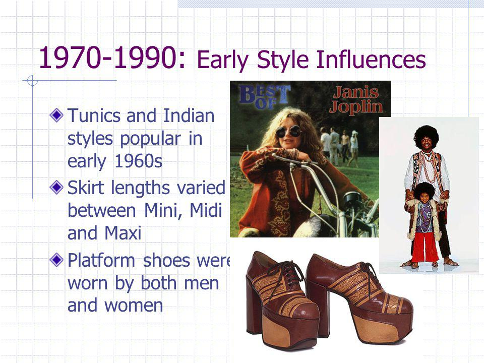 1970-1990: Early Style Influences