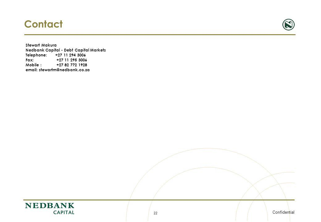 Contact Stewart Makura Nedbank Capital - Debt Capital Markets