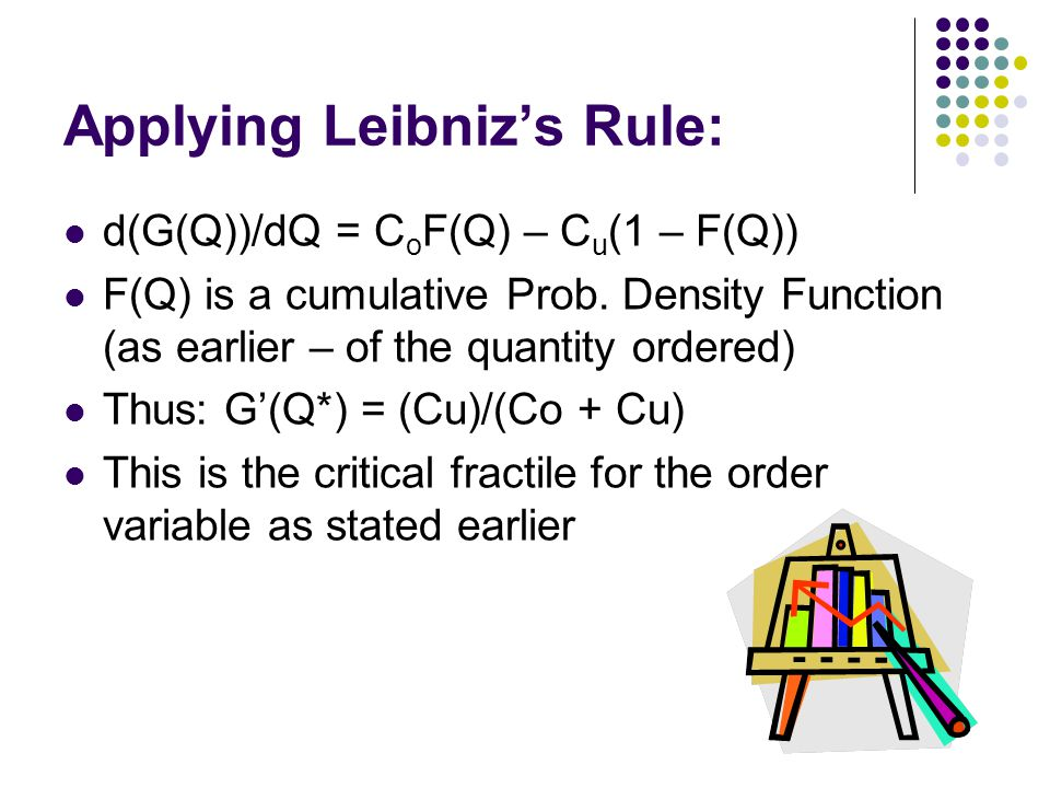 Applying Leibniz's Rule: