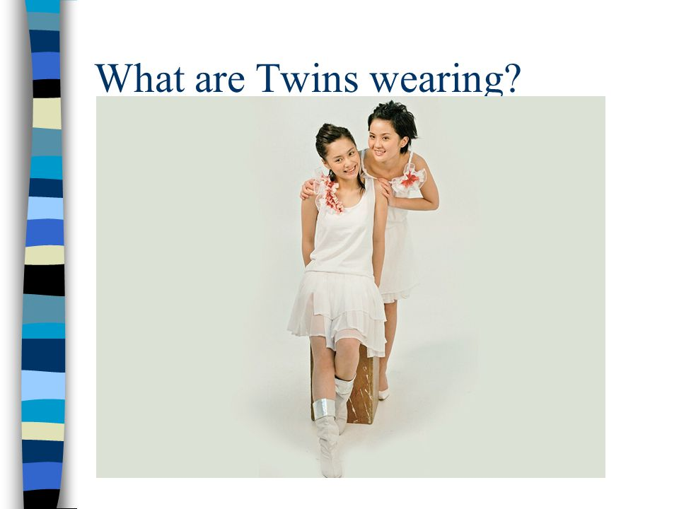 What are Twins wearing