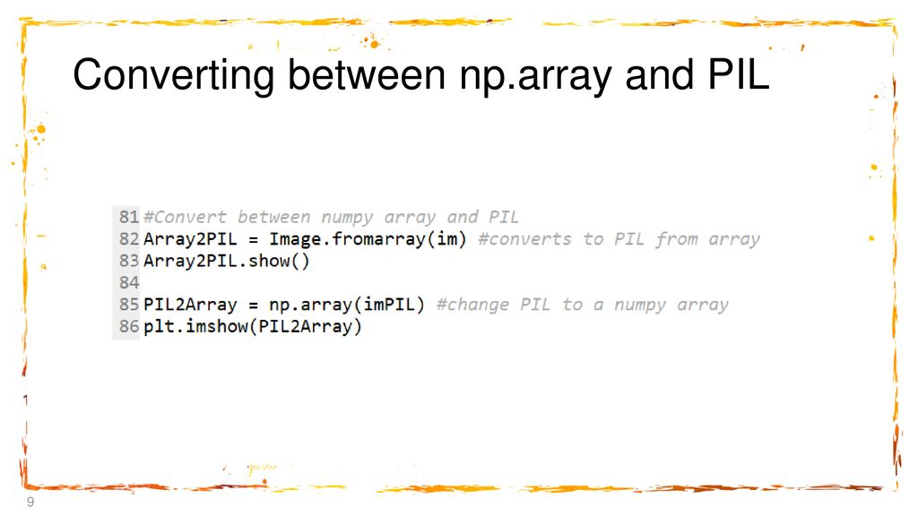Introduction to Image Processing in Python - ppt download