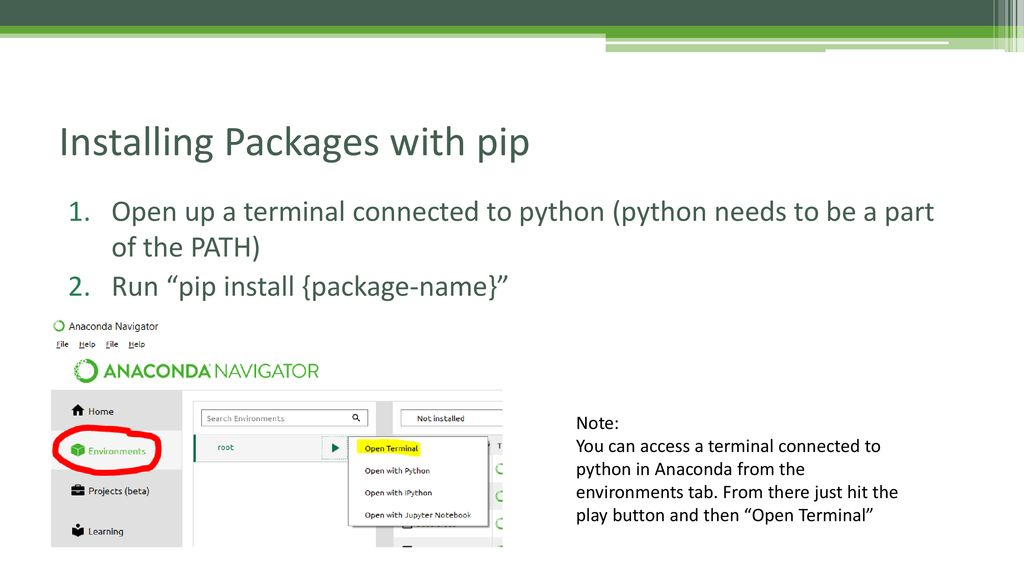 Pip package name