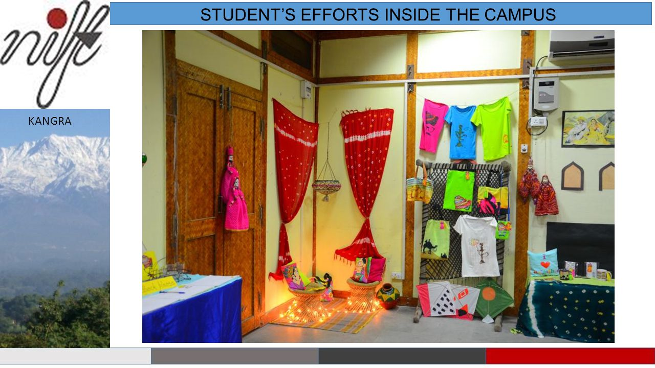 STUDENT'S EFFORTS INSIDE THE CAMPUS