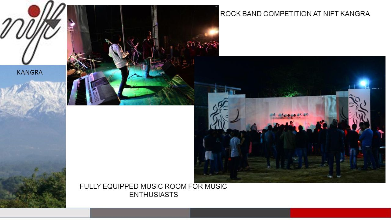 KANGRA ROCK BAND COMPETITION AT NIFT KANGRA