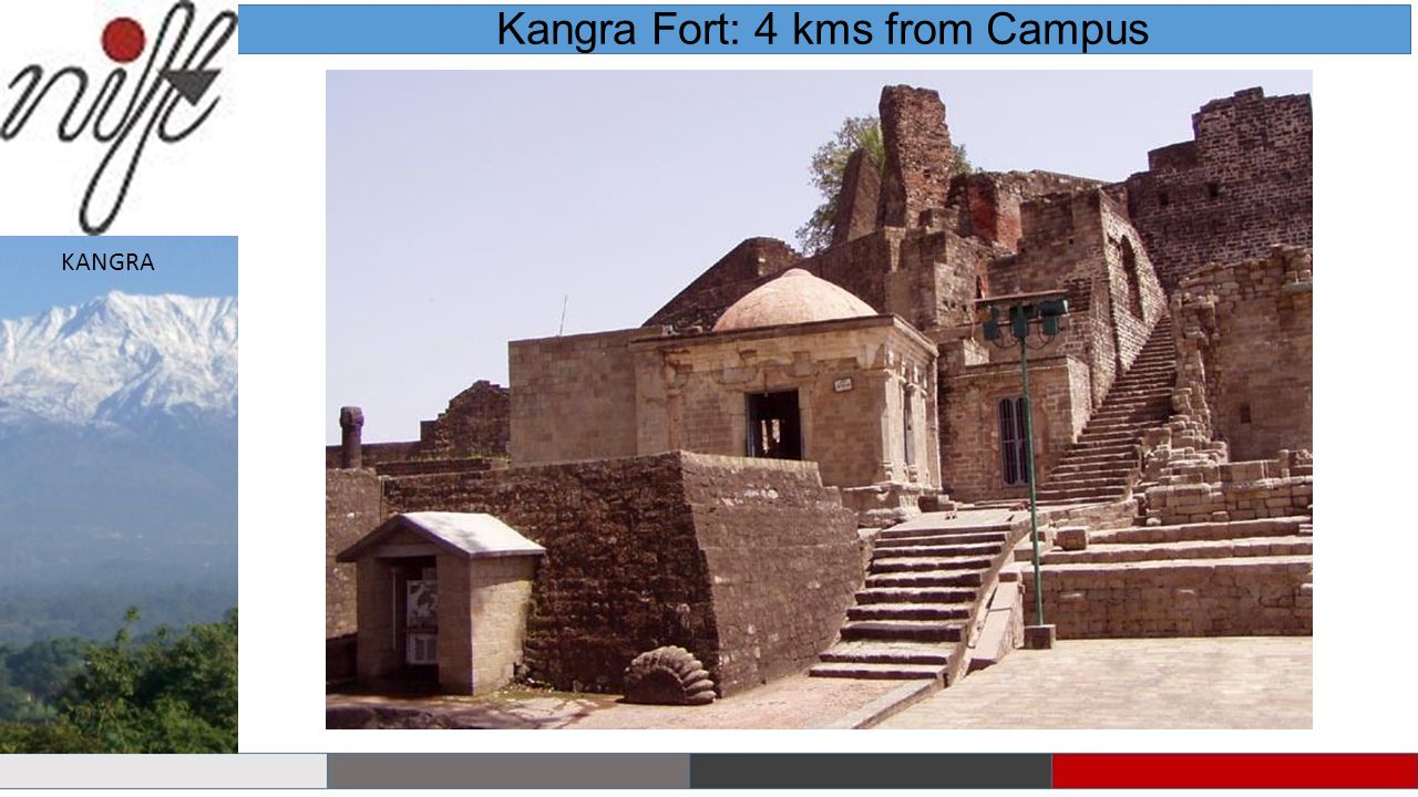 Kangra Fort: 4 kms from Campus