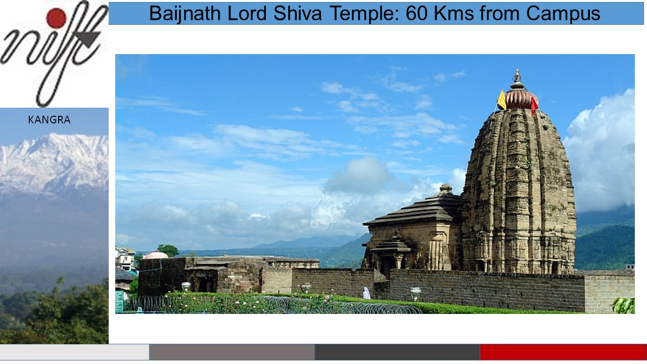 Baijnath Lord Shiva Temple: 60 Kms from Campus