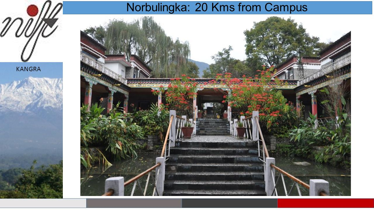 Norbulingka: 20 Kms from Campus