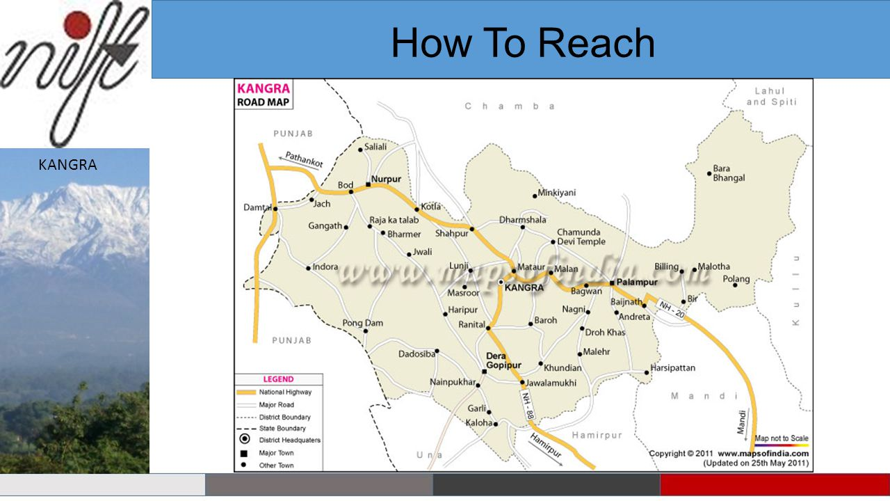 How To Reach KANGRA