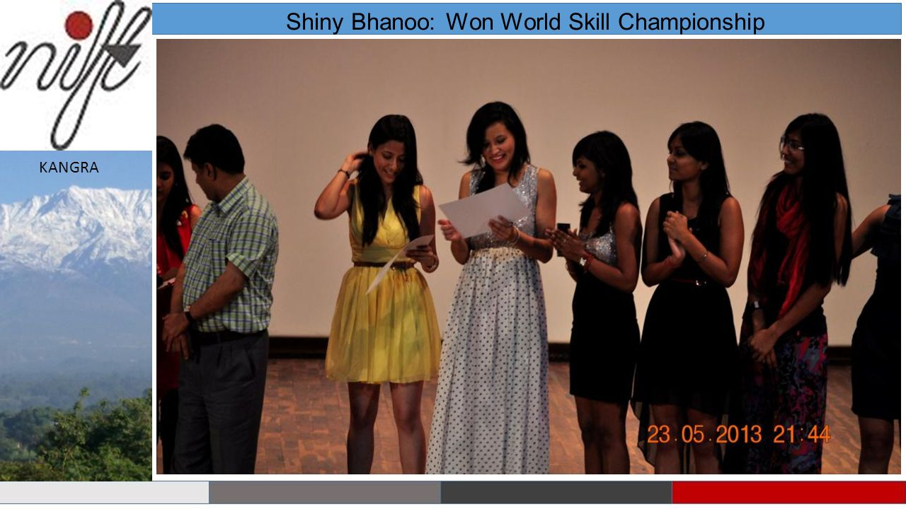 Shiny Bhanoo: Won World Skill Championship