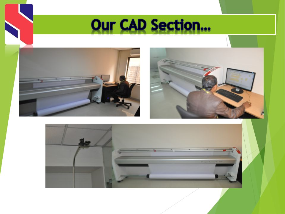 Our CAD Section…