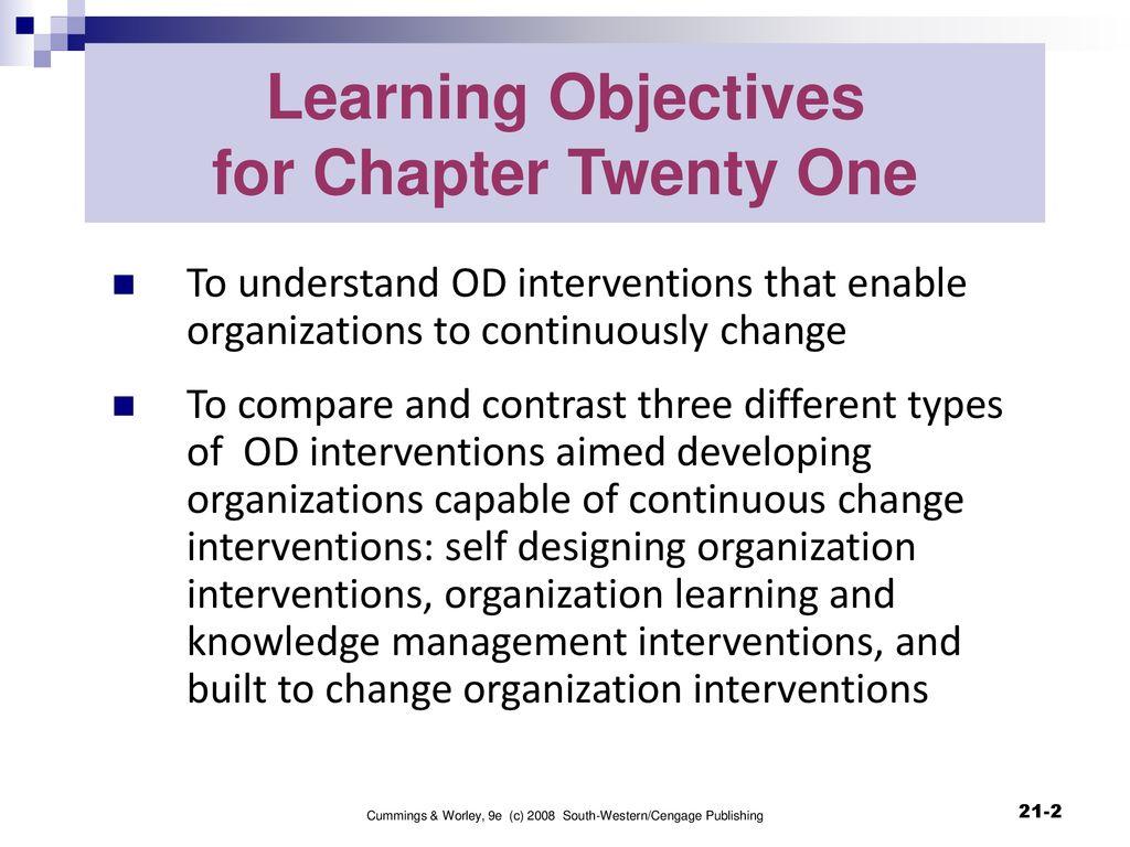 Organization Development And Change Ppt Download