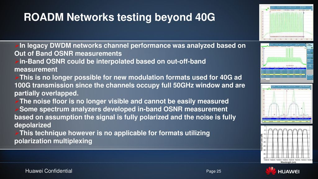 DWDM - OTN/ROADM Be smart when you plan your Network - ppt