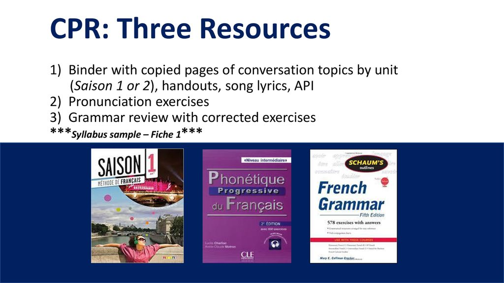 Term classes… Themed workshops… Immersion - ppt download
