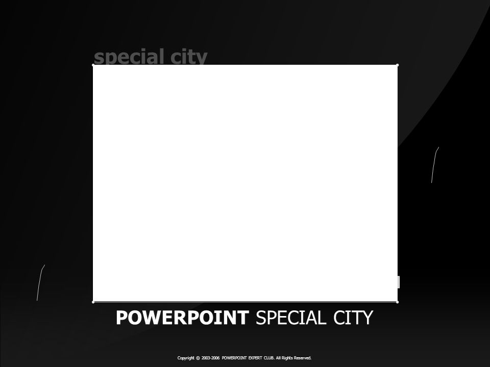 special city POWERPOINT SPECIAL CITY POWERPOINT SPECIAL CITY