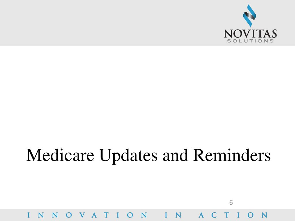 Medicare Updates and What's Trending for ppt download