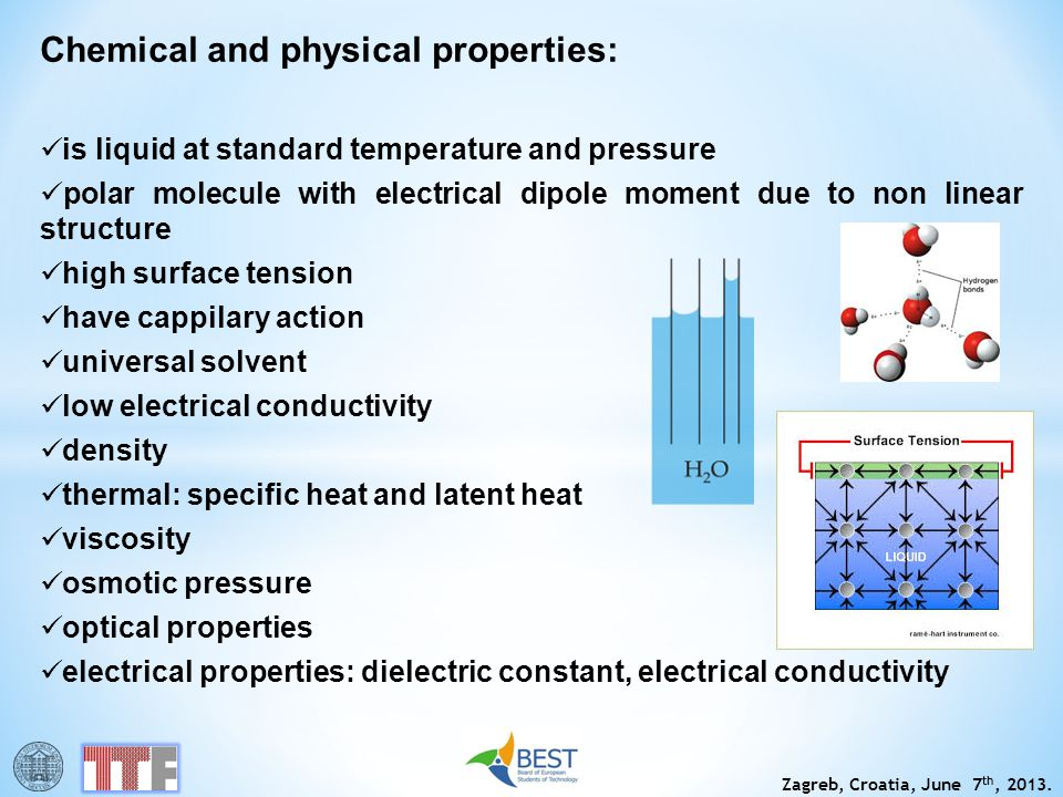 Chemical and physical properties: