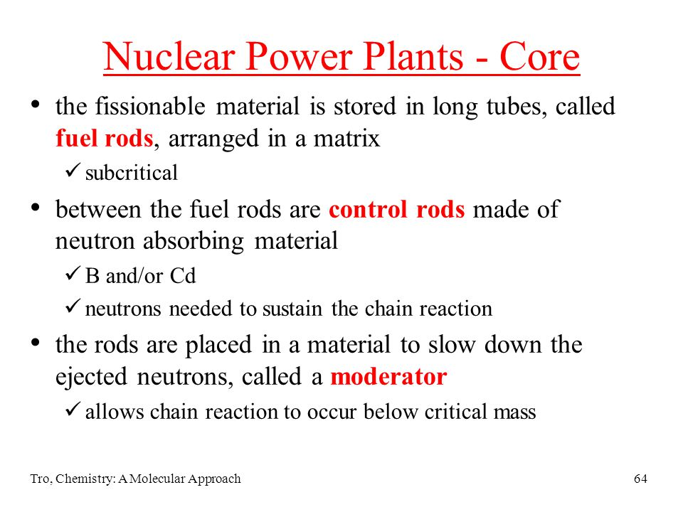 Nuclear Power Plants - Core
