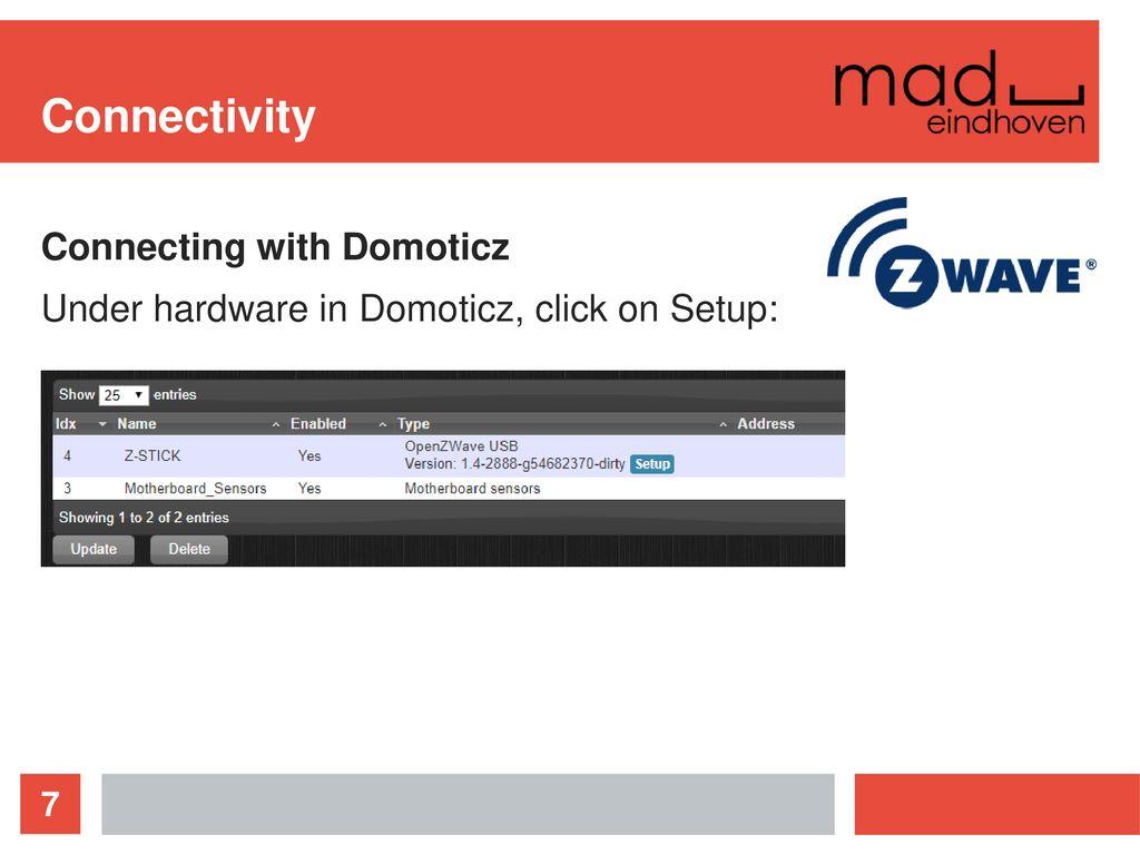 Connectivity Z-wave biggest plusses: - ppt download
