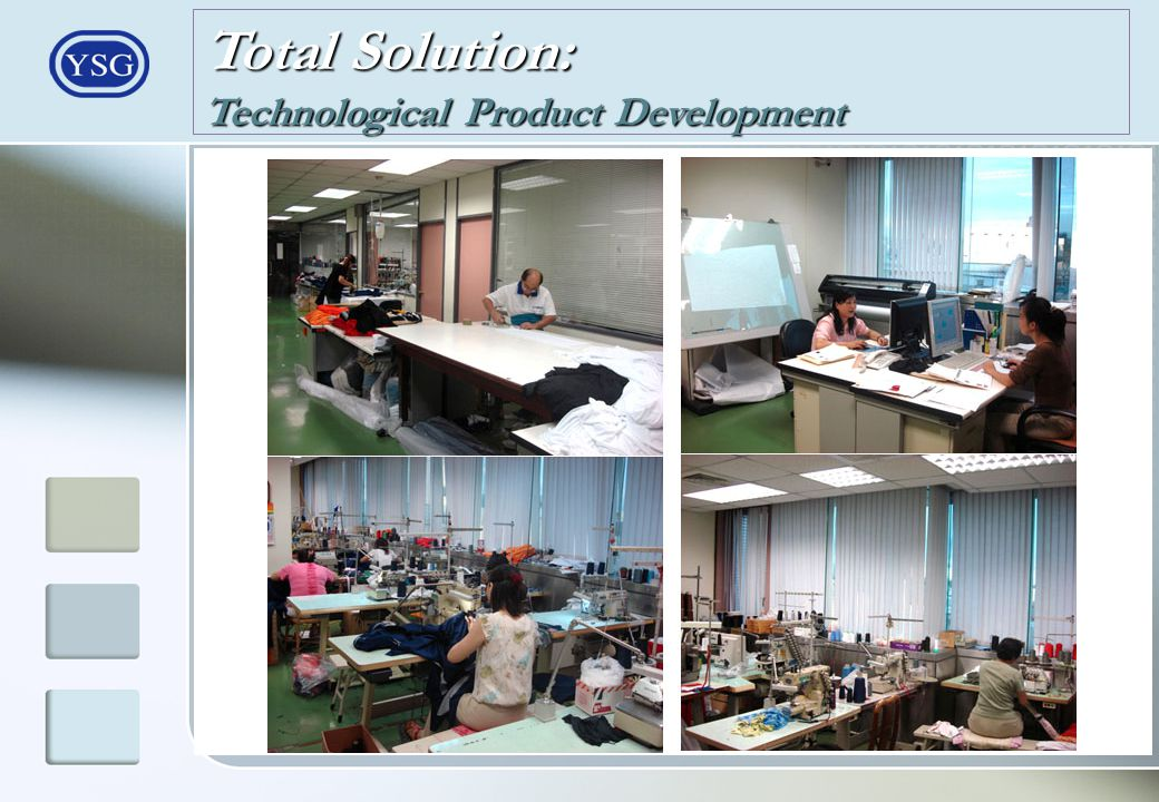 Total Solution: Technological Product Development