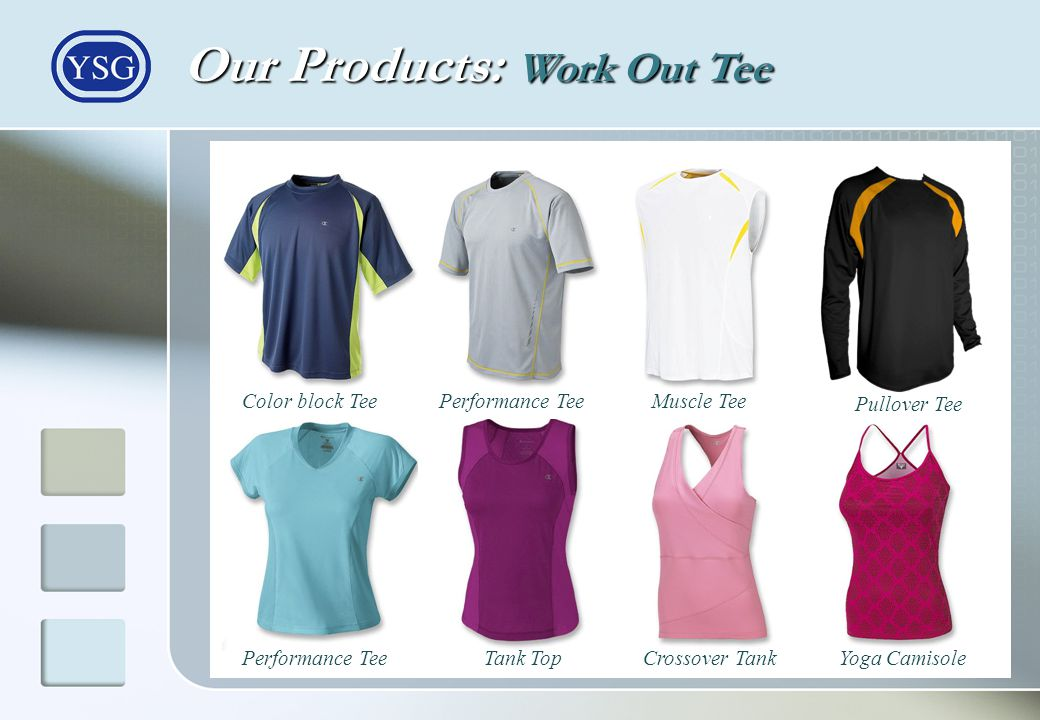 Our Products: Work Out Tee